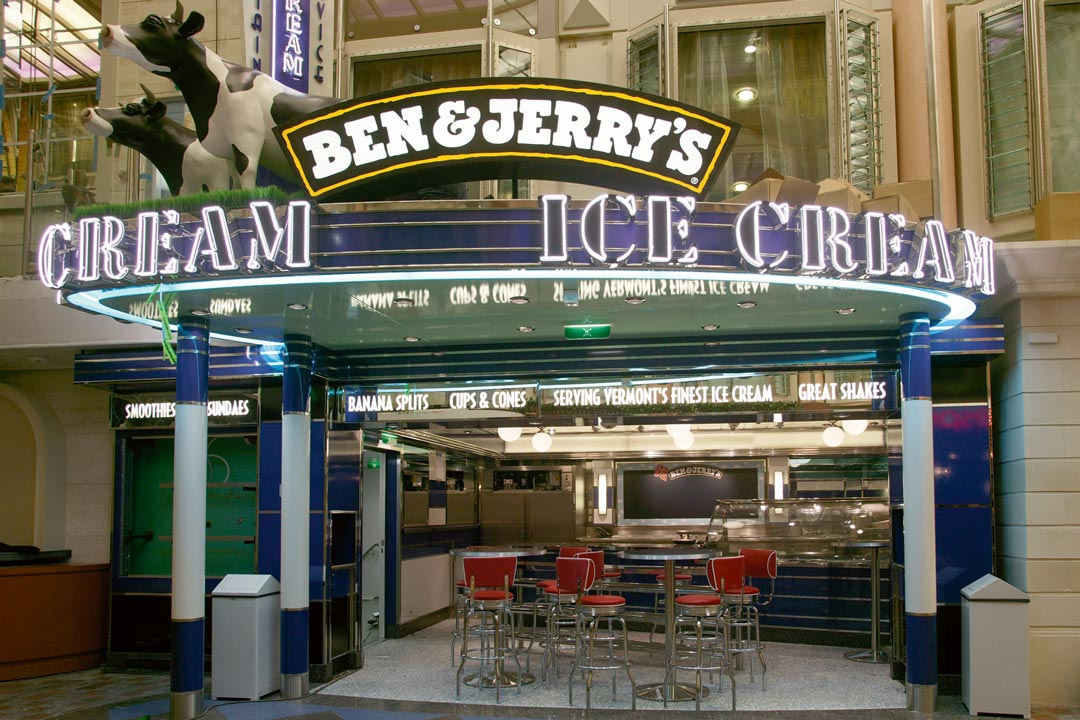 Ben and Jerry's Ice Cream Shop